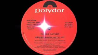 Gloria Gaynor - Anybody Wanna Party? (Polydor Records 1978)