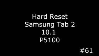 Сброс настроек Samsung Tab 2 10.1 P5100 (Hard Reset Samsung Tab 2 10.1 P5100)(, 2016-09-01T04:06:06.000Z)