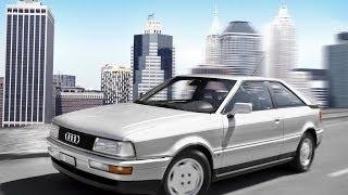 Ауди купе (Audi Coupe) внешний вид автомобиля