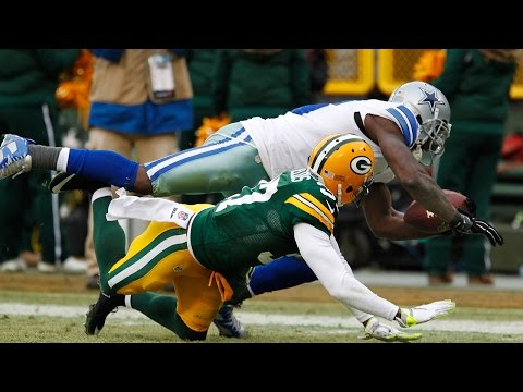 Cowboys Vs. Packers: Dez Bryant's Non Catch  | 2014 Divisional Round Playoff | Sound FX | NFL
