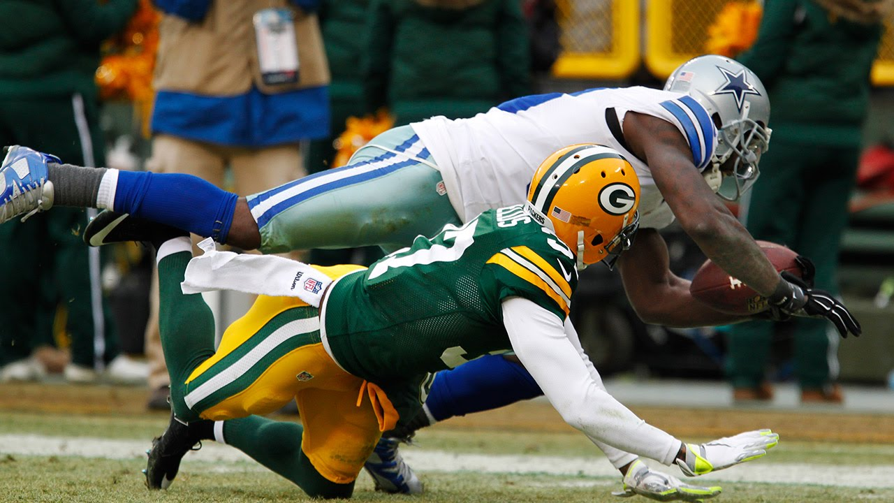 Cowboys Vs Packers Dez Bryant S Non Catch 2014 Divisional Round Playoff Sound Fx Nfl