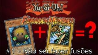 Yu-Gi-Oh Forbidden Memories #1 - Não sei fazer fusões