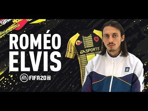 Roméo Elvis a créé un maillot de football sur FIFA 20
