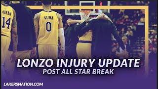 Lakers NewsFeed: Lonzo Ball Injury Update (Post All-Star Break)