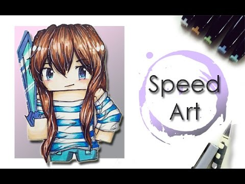 Famie_// speed art of Crxftingluna