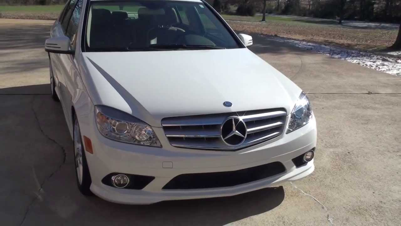 Hd video 2010 mercedes c300 4matic awd used for sale see for Used mercedes benz c300 4matic for sale