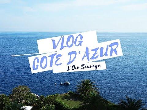 VLOG - découverte de la côte d'Azur !