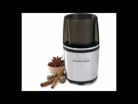 Cuisinart SG-10 Review Electric Spice-and-Nut Grinder