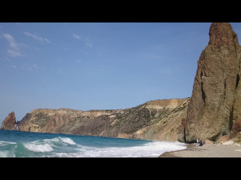 Яшмовый пляж, мыс Фиолент, Черное море