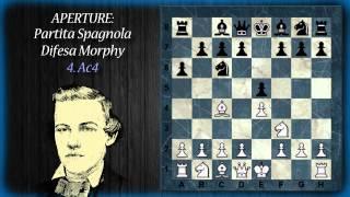 Aperture di Scacchi 01 - Apertura Spagnola - Difesa Morphy