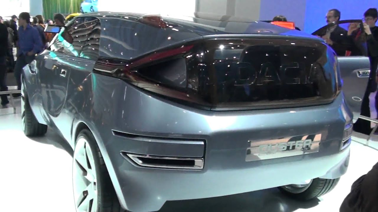 HD Dacia Duster concept car at motorshow Brussel 2010 ...