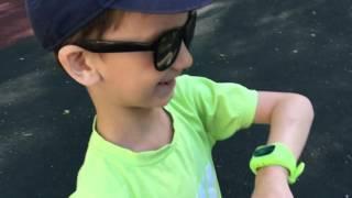 видео умные часы для детей с gps навигатором