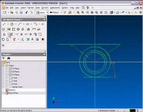 how to move 2d sketches in inventor