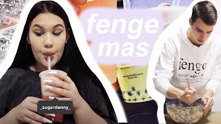 FENGEMAS 5 | Pečení perníčků do 4 do rána, ikea & bubble tea test | SugarDenny