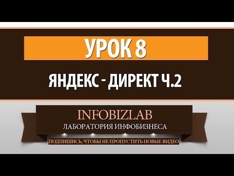 CPA бизнес. Урок 8 - Яндекс директ. Часть 2