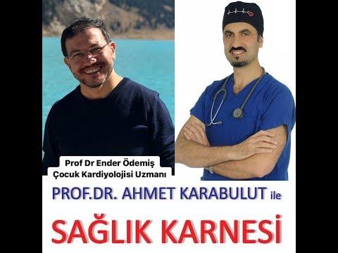 ÇOCUKLUKLARDA EN SIK GÖZLENEN KALP HASTALIKLARI - PROF DR ENDER ÖDEMİŞ - PROF DR AHMET KARABULUT