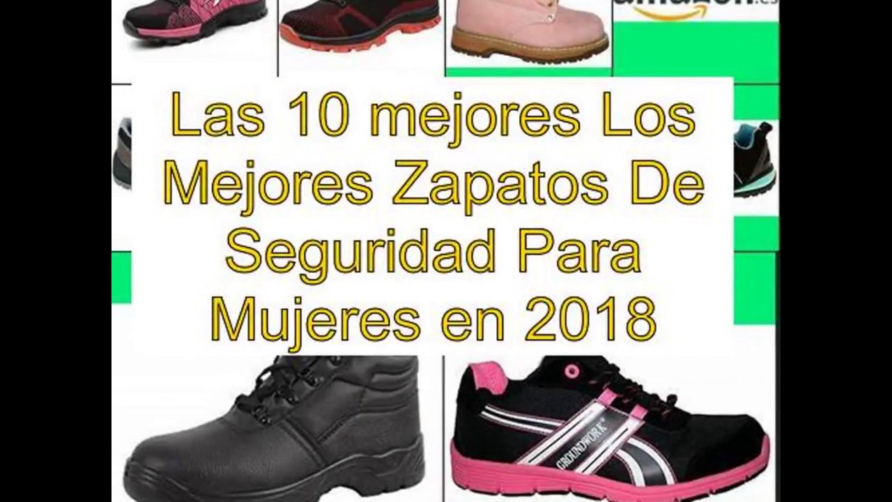 En Seguridad 10 Mujeres Mejores Para De Los Las 2018 Zapatos XU8Bnqwd