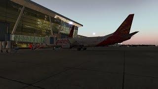 [X-Plane 11] Zibo 738 | CHENNAI INTL ✈ CHHATRAPATI SHIVAJI INTL | Full Flight