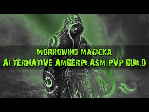 Alternative Amberplasm Magicka Sorcerer PvP Build - Elder