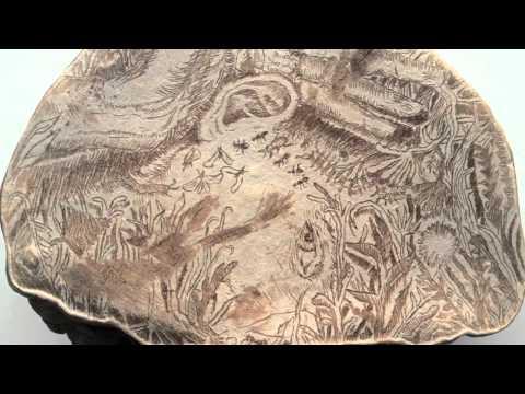 Artist Uses Mushrooms as Canvas