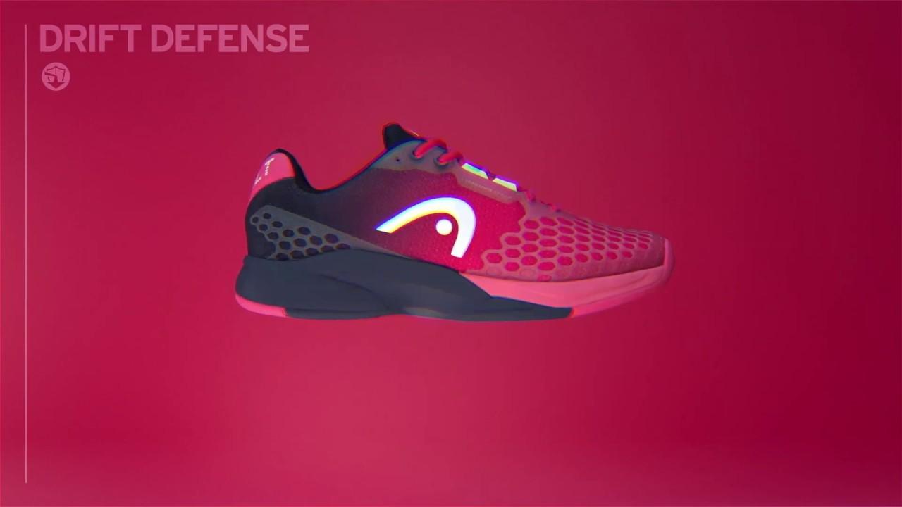 Hombre Head Revolt Pro 3.0 Clay Women Zapatos de Tenis