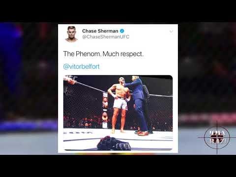 UFC Fighters react to Lyoto Machida front kick KO Vitor Belfort at UFC 224
