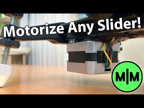 Lets Make - A Motorized Camera Slider