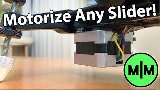 Lets Make - A Motorized Camera Slider