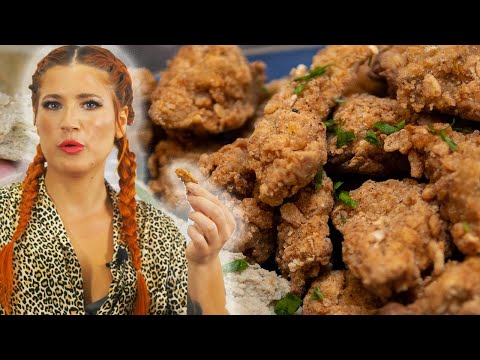 I Just Made the Best VEGAN Chicken Ever! | Vegan Fried Chicken