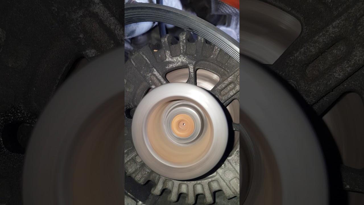 Mercedes W204 OM651 noise alternator pulley