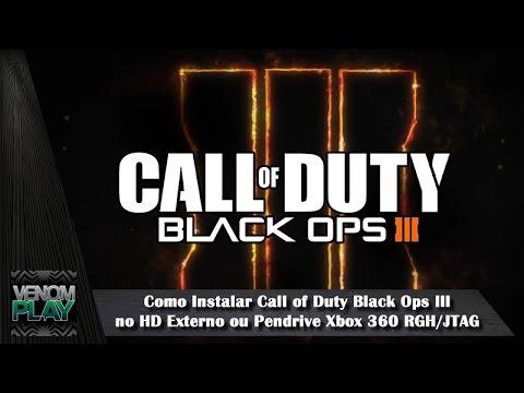 Como instalar call of duty black ops iii no hd externo ou for Hd esterno xbox 360