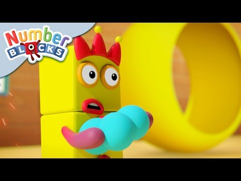 Numberblocks - Defeating More Difficult Sums | Learn to Count