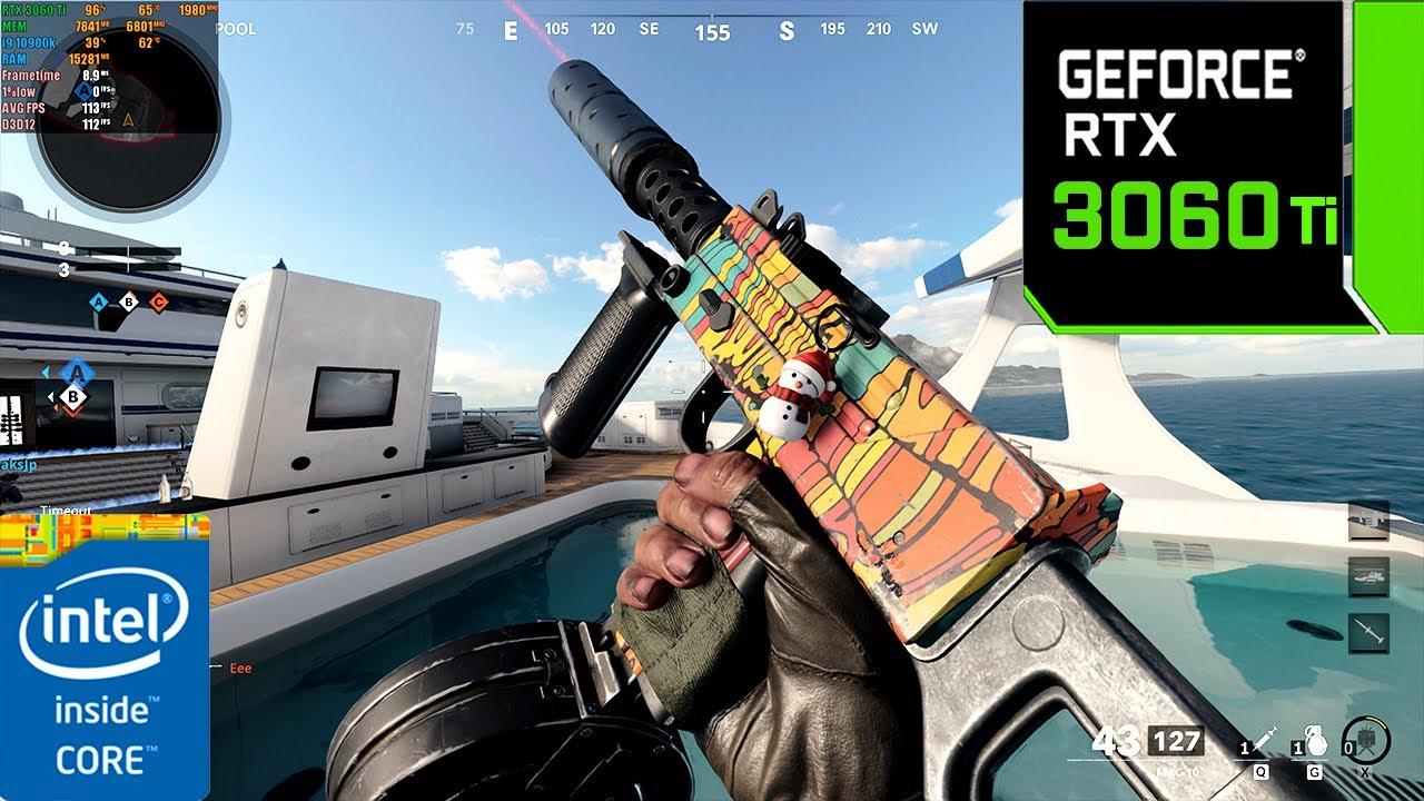 Call of Duty : Black Ops Cold War | RTX 3060 Ti 8GB ( 4K Maximum Settings RTX ON /DLSS ON )