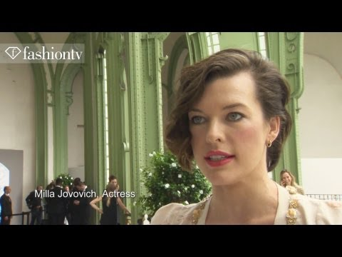 Haute Couture - Atelier Versace Fall/Winter 2012/13 ft Milla Jovovich | Paris Couture Fashion Week | FashionTV
