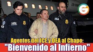 El Chapo a Cárcel de Supermáxima Seguridad