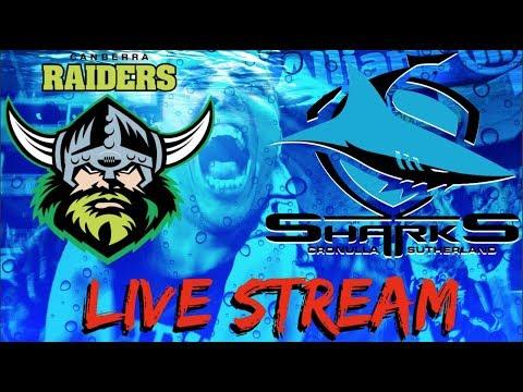 Canberra Raiders V Cronulla Sharks | NRL | Round 14 | Live Stream Podcast