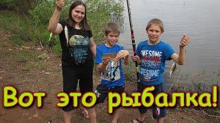 Рыбалка с большим уловом на Братском водохранилище 06 21г Семья Бровченко