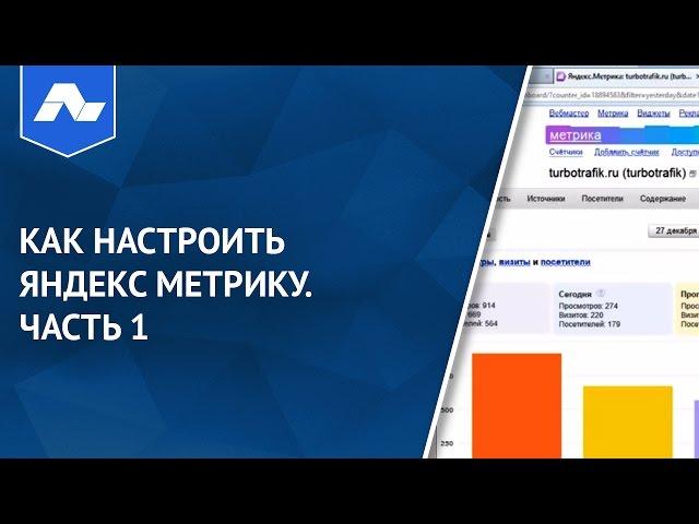 Как настроить Яндекс Метрику. Часть 1
