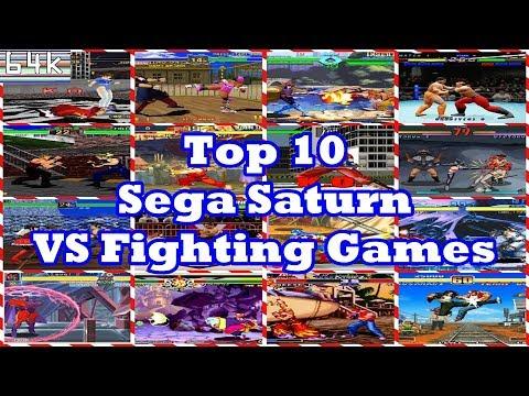 Top 10 Sega Saturn Fighting Games