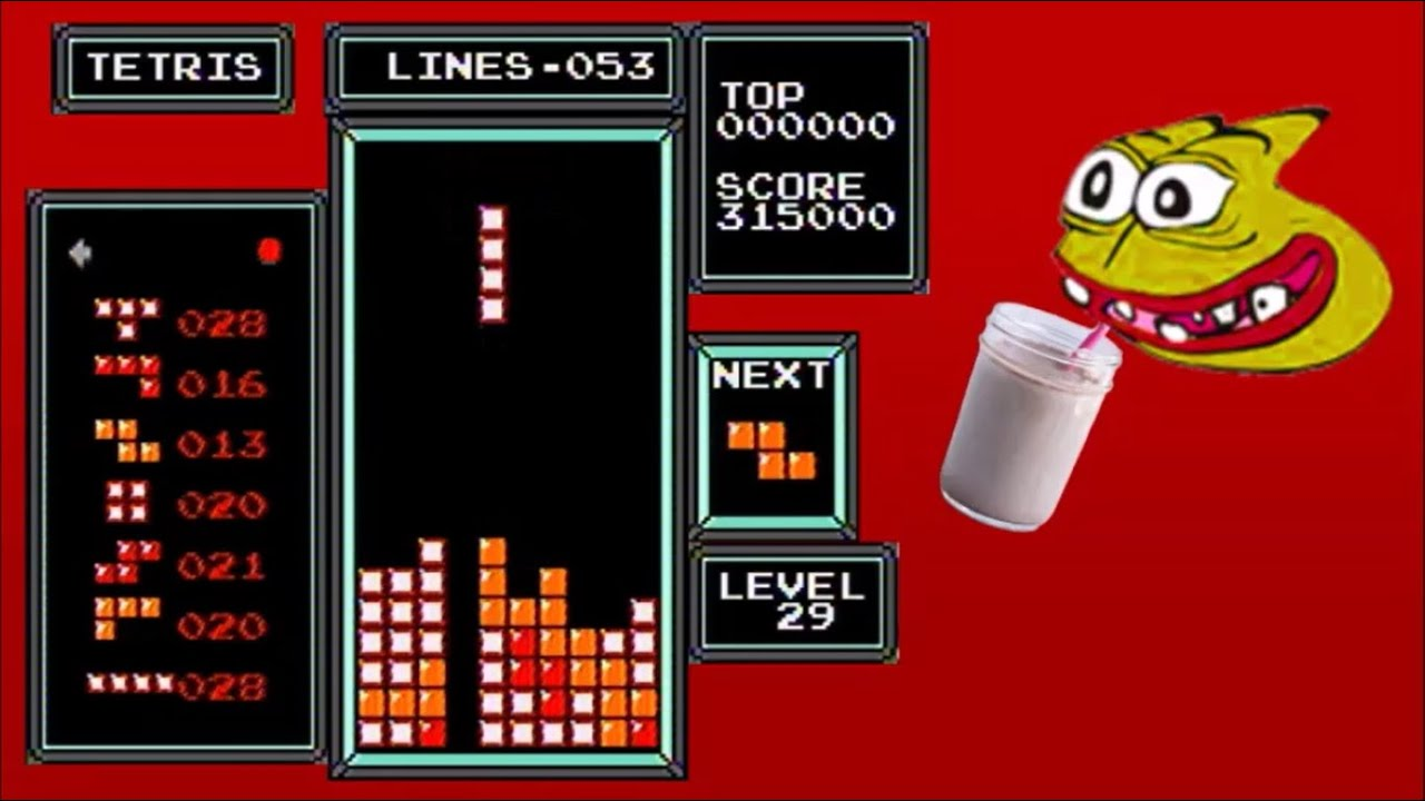 Download NES Tetris - 427,800 From a 29 Start (Former World Record)