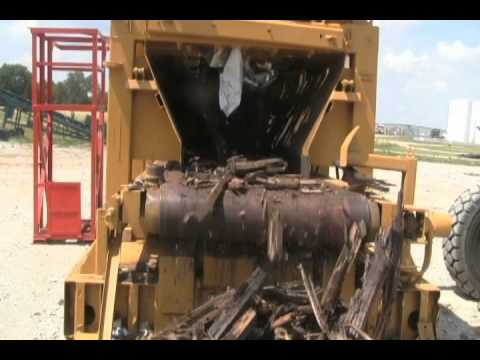 Rome Mawler Stomas Railroad Ties Shredding Demo
