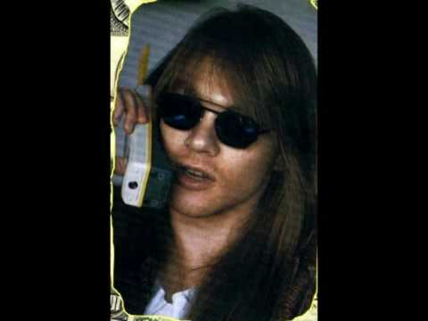 Axl Rose Interview @ Howard Stern's Radio Show circa 1989