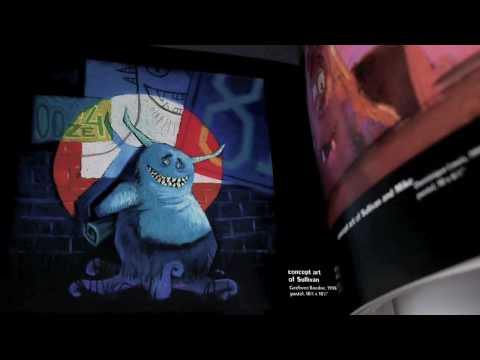 The Art of Monsters Inc