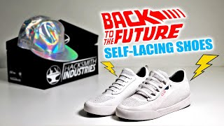 We Made SELF-LACING SHOES from BACK TO THE FUTURE!