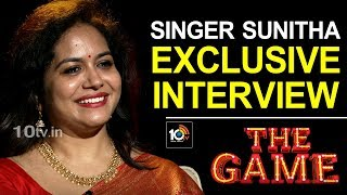 Singer Sunitha Upadrashta About Her Life | The Game A Talk Show | 10TV News