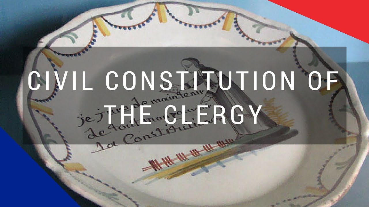 civil constitution of the clergy Bishops and clergy are henceforth to be elected, like civil officials, and they are to take an oath of allegiance to the french constitution many flee abroad, becoming an important element among france's émigré population only three of the country's bishops take the oath to the constitution.