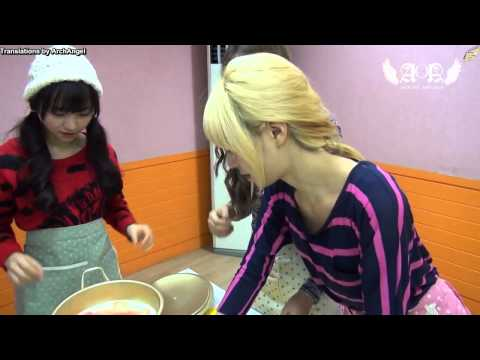 [ENG SUB] Angels' Cam #14  AOA's Cooking