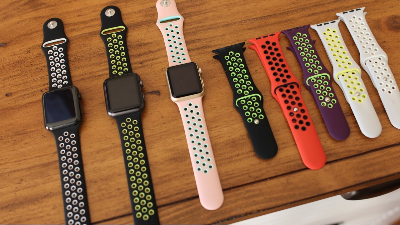 10ec4c60128fd4 Apple Watch Nike Band for  8 - Series 4