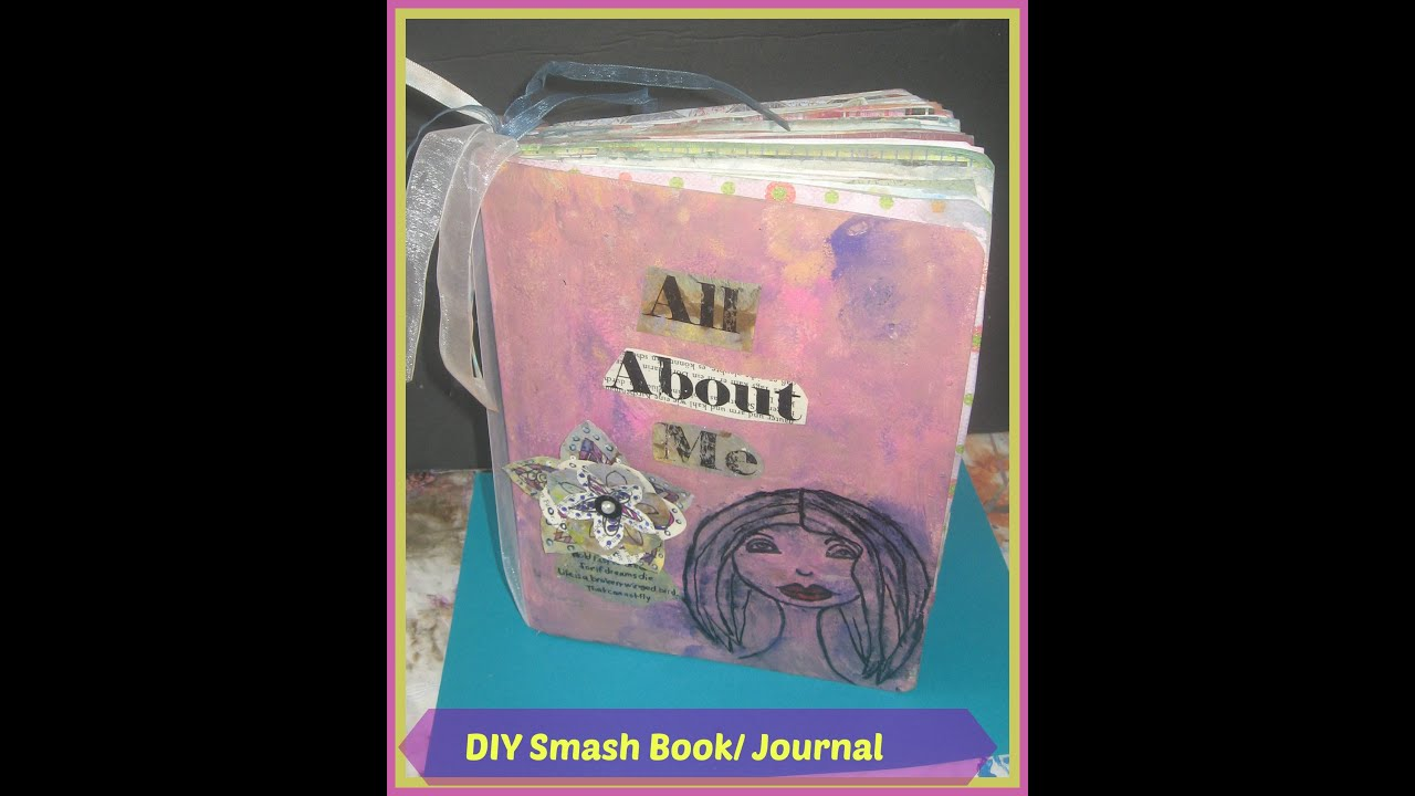 Composition Book Cover Tutorial By V And Co : How to make a smash from composition book part