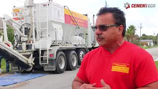 Business Starts Up Concrete Company